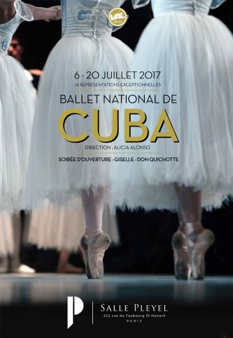 Le Ballet National de Cuba - Cours en public